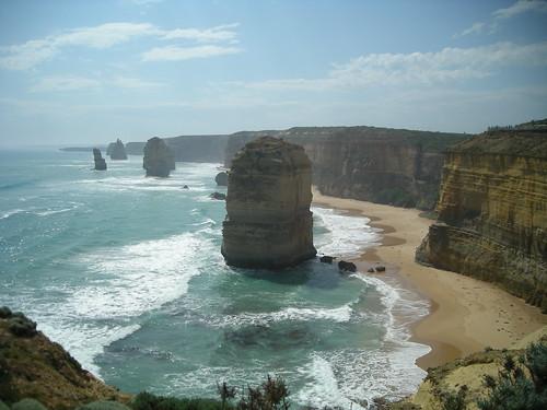 The Great Ocean Road, la carretera más famosa al oeste de Victoria en Australia