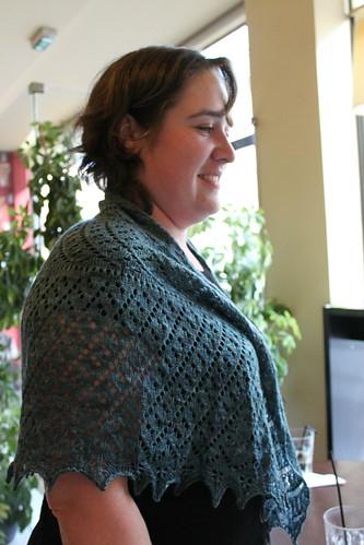 Ontem foi dia de encontro das Tricotadeiras do Porto