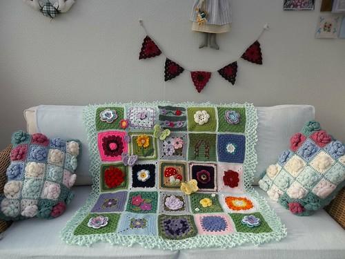 A Flowery Blanket.