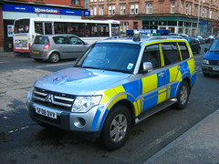 4X4 Strathclyde Armed Response Police Car Glasgow Scotland - 2 of 2 (Kelvin64) Tags: car scotland 4x4 glasgow police strathclyde
