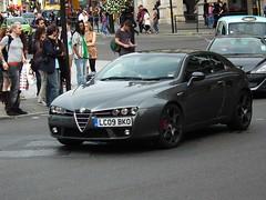 Brera S (kenjonbro) Tags: uk london grey trafalgarsquare s alfaromeo 2009 jts v6 brera worldcars kenjonbro fujihs10 3195cc