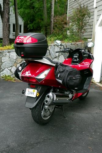 2003 Honda Silverwing - Rear