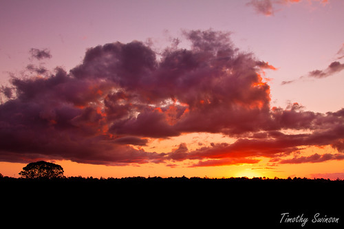 Sunset Over Toowoomba-1