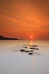 Orange sunrise ~ Cap Esterel ~ Cte d'Azur (French Riviera) ~ France (emvri85) Tags: longexposure sea sun mer sunrise soleil riviera ctedazur paca provence agay esterel aube capesterel ledramont saariysqualitypictures mygearandme stunningphotogpin