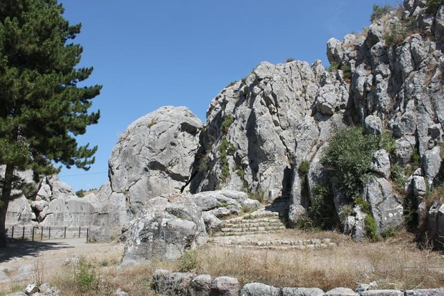Yazilikaya and its Hittite stone reliefs
