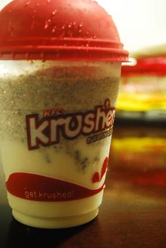 my KFC krusher