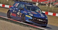 Francesc Gutiérrez-Enric Codony-Jordi Codony-Santi Navarro-Laia Sanz//Renault Clio III RS Copa
