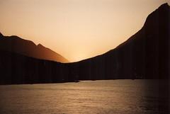 Sunset Prins Christian Sund Grönland