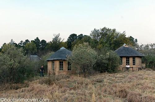Rondavels at Sani Lodge