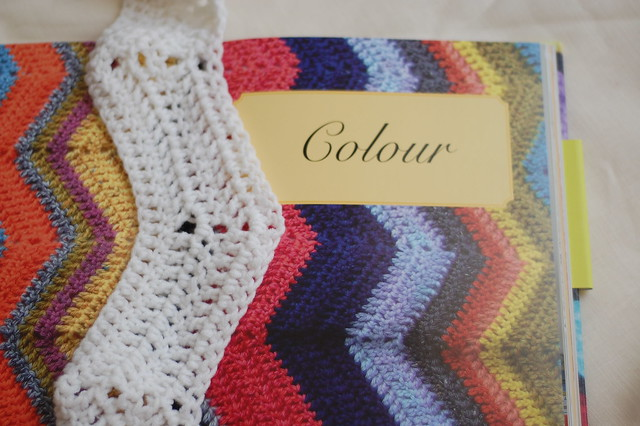 the gentle art of knitting: colour