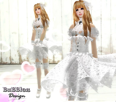 B ubblez Design - Snow Doll Outfit by Cherokeeh Asteria