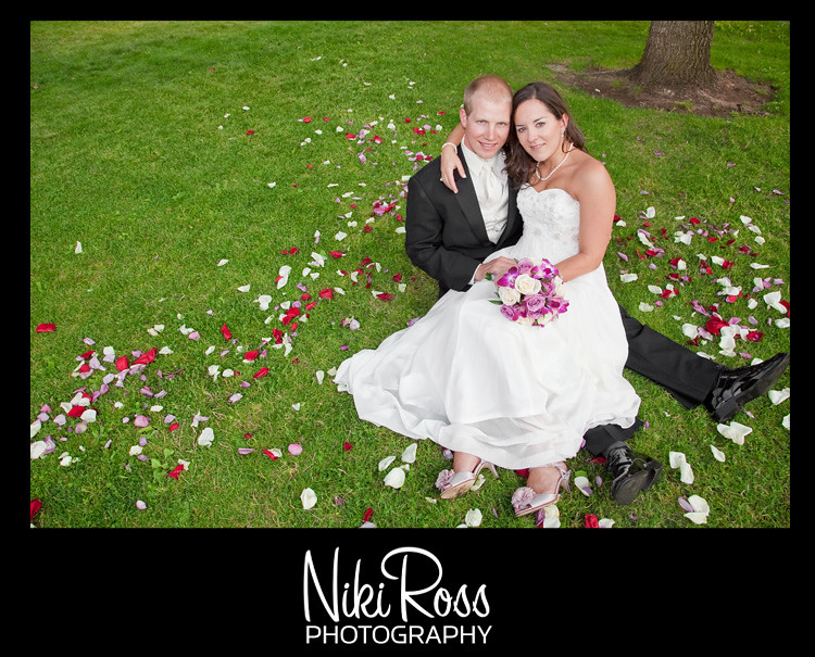 Bride&Groom-RosePetals