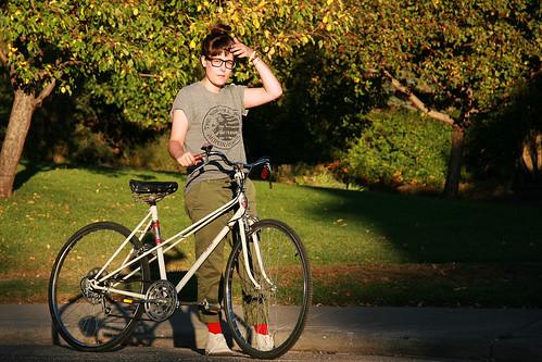 Chelsee & Her Bike