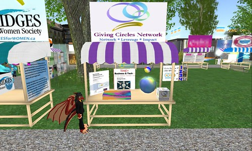 Giving Circles Booth NPC 4th anniversary