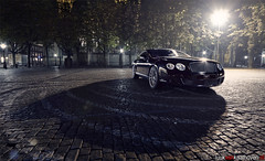 In The Spotlight.. (Luuk van Kaathoven) Tags: black speed den continental spotlight parade van gt bentley bosch shertogenbosch the luuk luukvankaathovennl kaathoven
