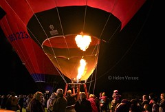 iHeart Ballooning (Helen Vercoe) Tags: people night fire heart flame hotairballoon burner southaustralia nightglow renmark nikond90 helenvercoe