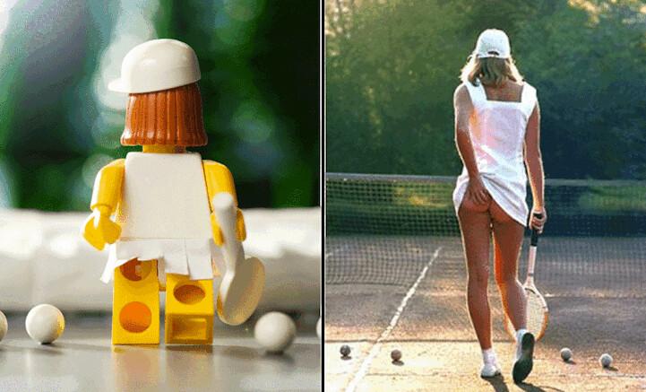 Legos e Fotos Famosas