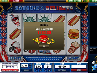 free Douguie's Delights slot bonus game
