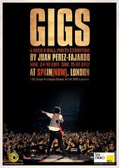 Gigs (Juan The Fly Factory) Tags: london rock photo spain expo juan exhibition gigs roll now fajardo exposicin iberica a prezfajardo