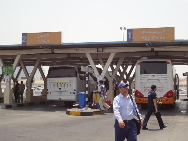 Estação Autocarro Al Jubail Sharjah Emirados