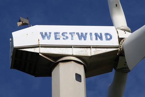 Wind generator at Black Rock