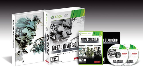 Metal Gear Solid HD Collection Limited Edition (Xbox 360)