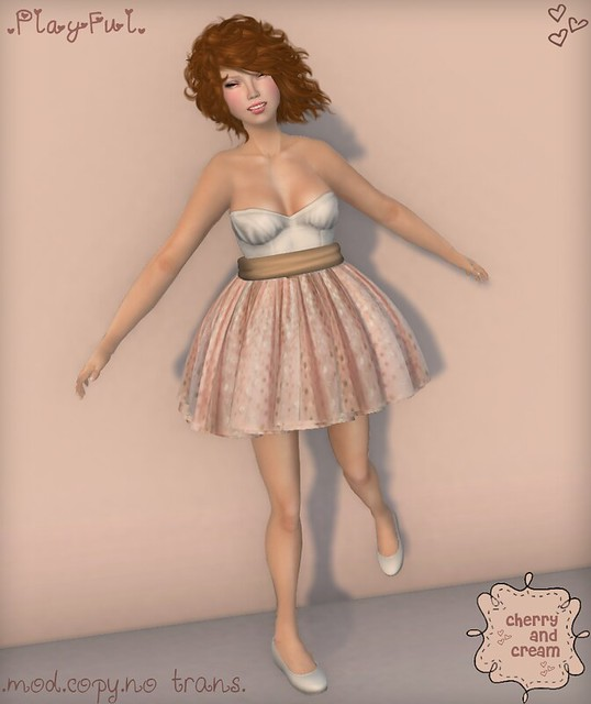 Cherry & Cream Poses - Playful (4.44.444 Event) - Preview!