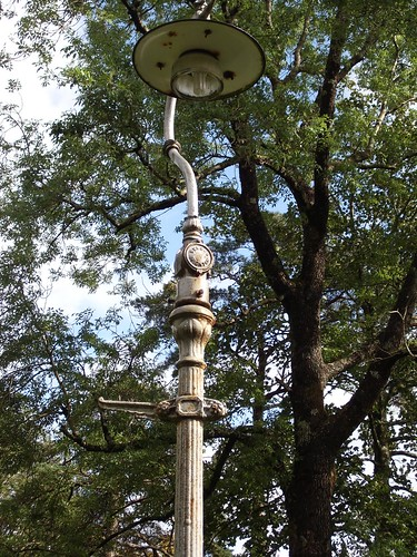 Cathedral lamppost