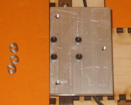 HBP Mounting Plate without Springs