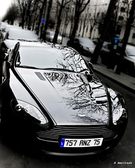 Aston Martin (_Amritash_) Tags: street favorite paris france monochrome car reflections dof top dream streetphotography clarity fast monochromatic supercar hdr aston astonmartin wwh dreammachine postprocessing meanmachine bondcar amritash
