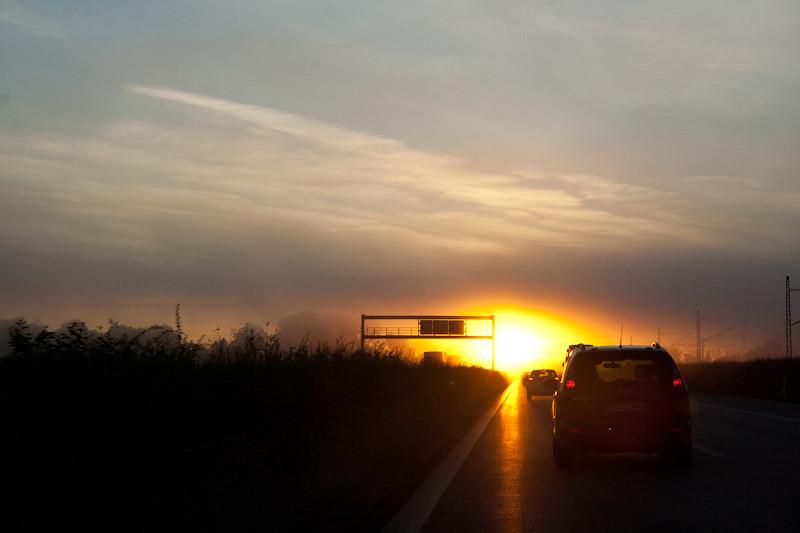 Sonnenaufgang Frontal