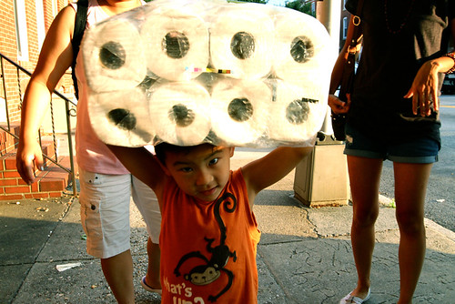 Rolled Paper hat