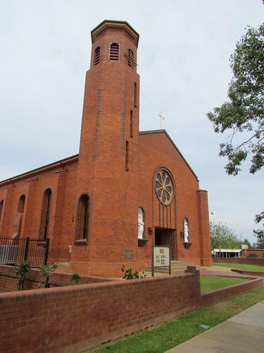 St Joseph's Catholic Church, Leeton, New South Wales, Australia