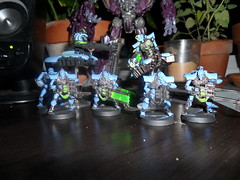 Necrons! (Camper_Bob) Tags: miniature painted 40k destroyer warhammer duncan necron