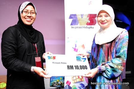 Pemenang utama Peraduan Tonton & Menang Ulangtahun TV3 ke-27