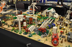 Numereji 2421: New Howland (Yupa-sama) Tags: lego display convention 2011 2421 brickcon numereji