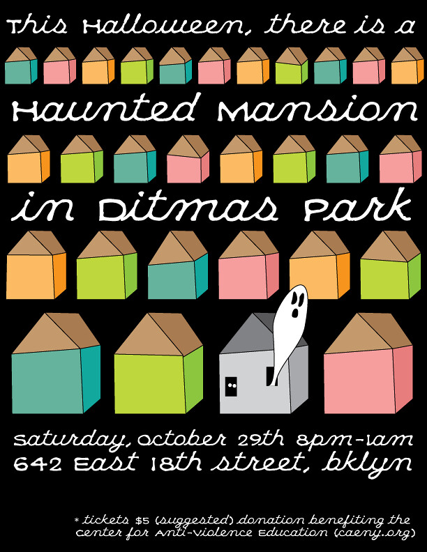 Haunted Mansion in Ditmas Park 642 East 18th St. Brooklyn October 29