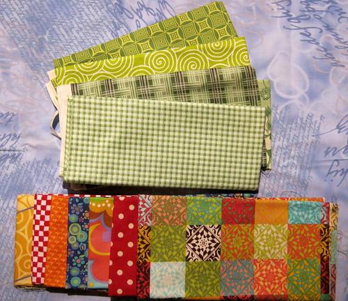 Preschool Quilt Fabric pull