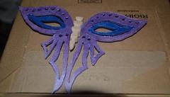 Mardi Gras Mask Butterfly