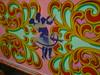 Fairground Art (vw4y) Tags: art fairground chiffon pembrokeshire follyfarm cigarettesmoke dancingcouple paintedscenes