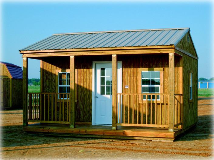 Side Porch Cabin 16x16  SPC