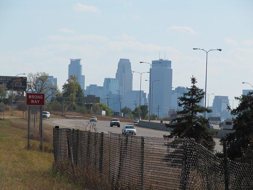 Minneapolis Skyline from Downling Ave N