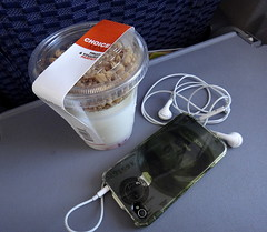 My iPhone and Yogurt... () Tags: ocean vacation holiday money plane airplane bread island hawaii franklin fly us bill inflight paradise aircraft united flight jet cellphone cell continental aerial bones boeing benjaminfranklin stewardess 10000 bucks rtw currency aereo vacanze earphones avion dollars 737 unitedairlines roundtheworld flightattendant iphone continentalairlines benjamins globetrotter northpacific 737800 areo deadpresidents airhostess boeing737 staralliance northpacificocean skrilla 10days insidetheplane worldtraveler deadpresident hundreddollarbill ario iphone4 hundreddollar simoleons continentalairways airplanemode interiorcabin inthecabin 737800900 hawaii2011