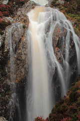 Waterfall on Milky Burn, Catacol, Isle of Arran (shotlandka) Tags: longexposure nature water beauty canon scotland waterfall stream burn arran isleofarran catacol spate canoneos500d mygearandme ringexcellence musictomyeyeslevel1