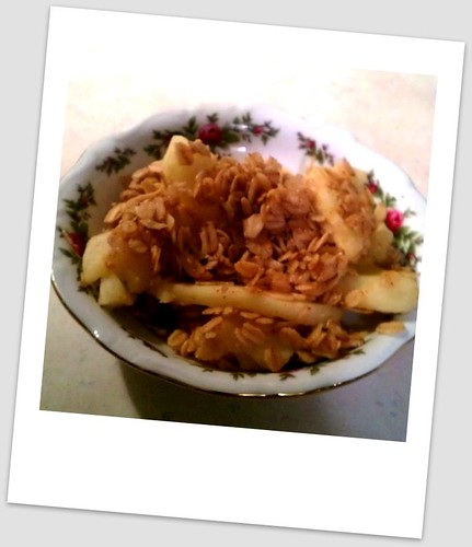 Apple crisp by mistypearson@rocketmail.com