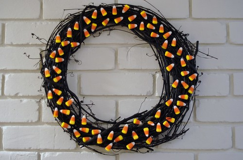 Halloween Wreath by neesypea