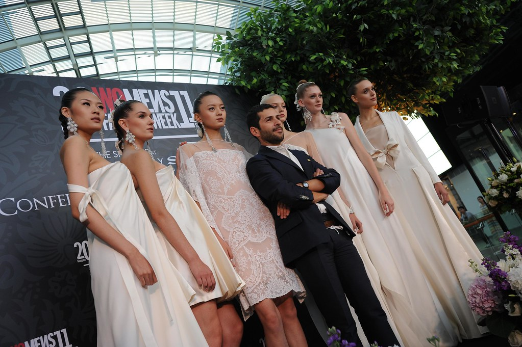 ALEXIS MABILLE WITH MODELS 4