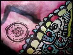 hand dyed silk, hot pink, henna design (Shaylati) Tags: muslim islam uae saudi pashmina kuwait silkscarf niqab allah muhammad qatar khaleeji silkscarves   muslima reverts silkshawls handdyedsilk islamicfashion   muslimfashion muslimstyle handdyedsilkscarves hijabstyle silksarongs hijabtutorial shabasa halfniqab shaylati   rainbowhijab shaylatutorial  purplehijab    trbanmodelleri