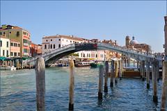 Venice : Ponte degli Scalzi (Pantchoa) Tags: bridge venice church puente nikon iglesia ponte chiesa pont venise venecia venezia glise grandcanal santacroce sancroce canalgrande sangeremia scalzi d90 grancanal bellitalia nikonpassion 1685mmf3556gedvrafsdxnikkor ringexcellence nikkorafsdxvr1685