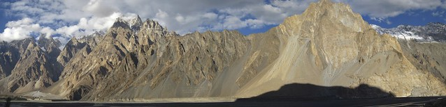 Just north of Passu on the KKH.
